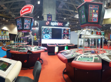 Aura multigame amphitheatre Spintec's solutions at G2E Asia