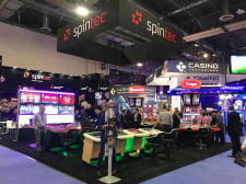 Spintec celebrated a very successful G2E Las Vegas Expo with their last generation gaming solutions