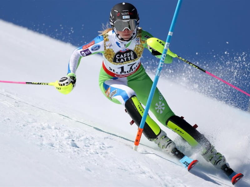 Ana Bucik third in World Cup alpine combined in Lenzerheide