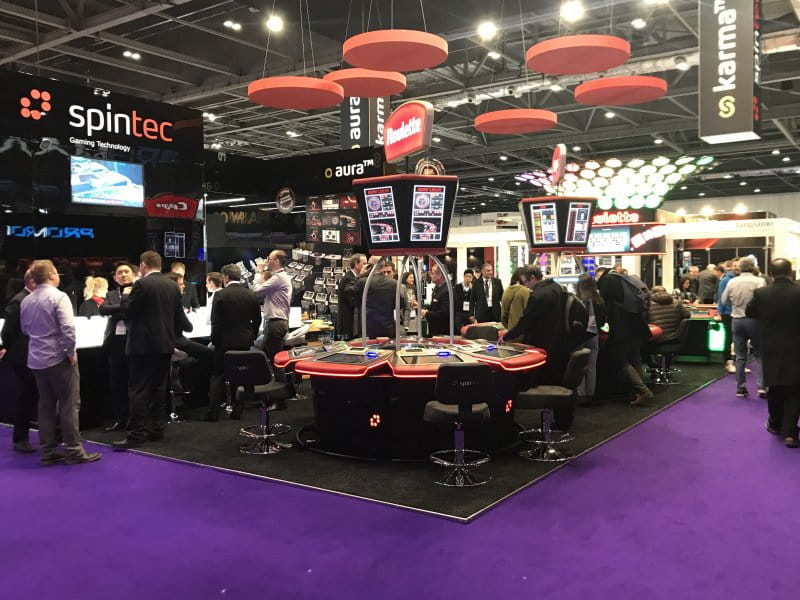 ICE 2018 - Spintec announces to expand their electronic table games' presence world-wide