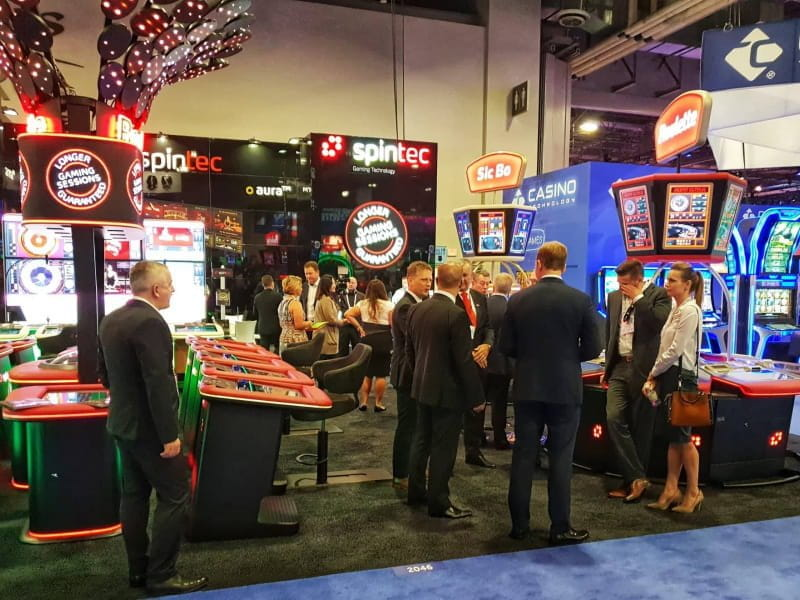 Spintec wins G2E Las Vegas 2018 gaming expo