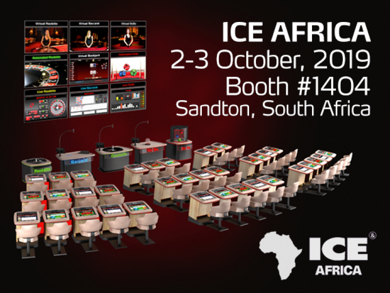 Spintec industry-leading gaming solutions at ICE Africa 2019