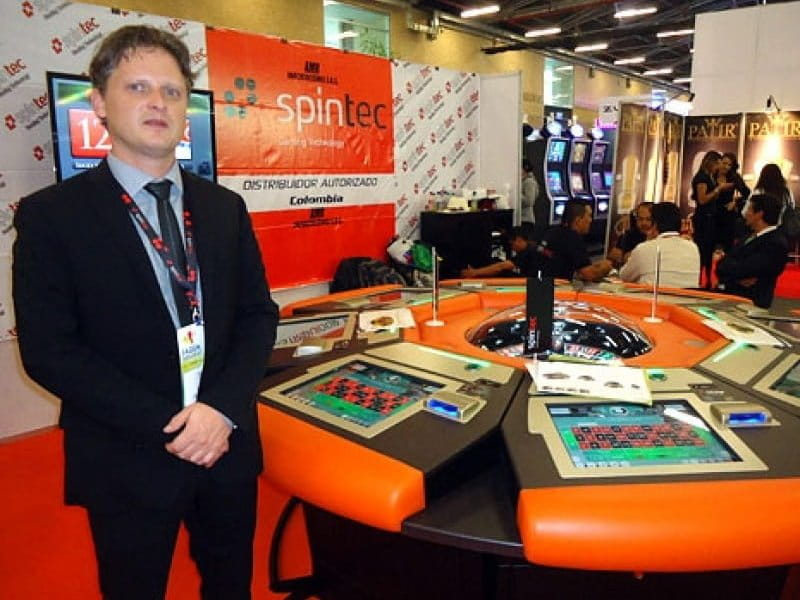 Spintec presented its Karma automated roulette at recent FADJA