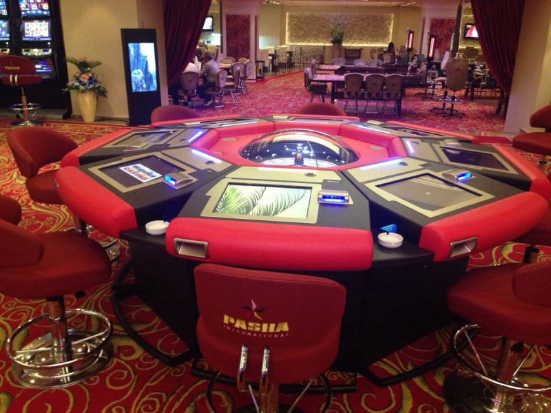 New installation on Cyprus at Casino Accapulco, Cyprus