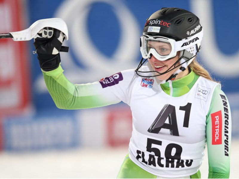 Ana Bucik powered by Spintec achieved a great result in Alpine Skiing World Cup