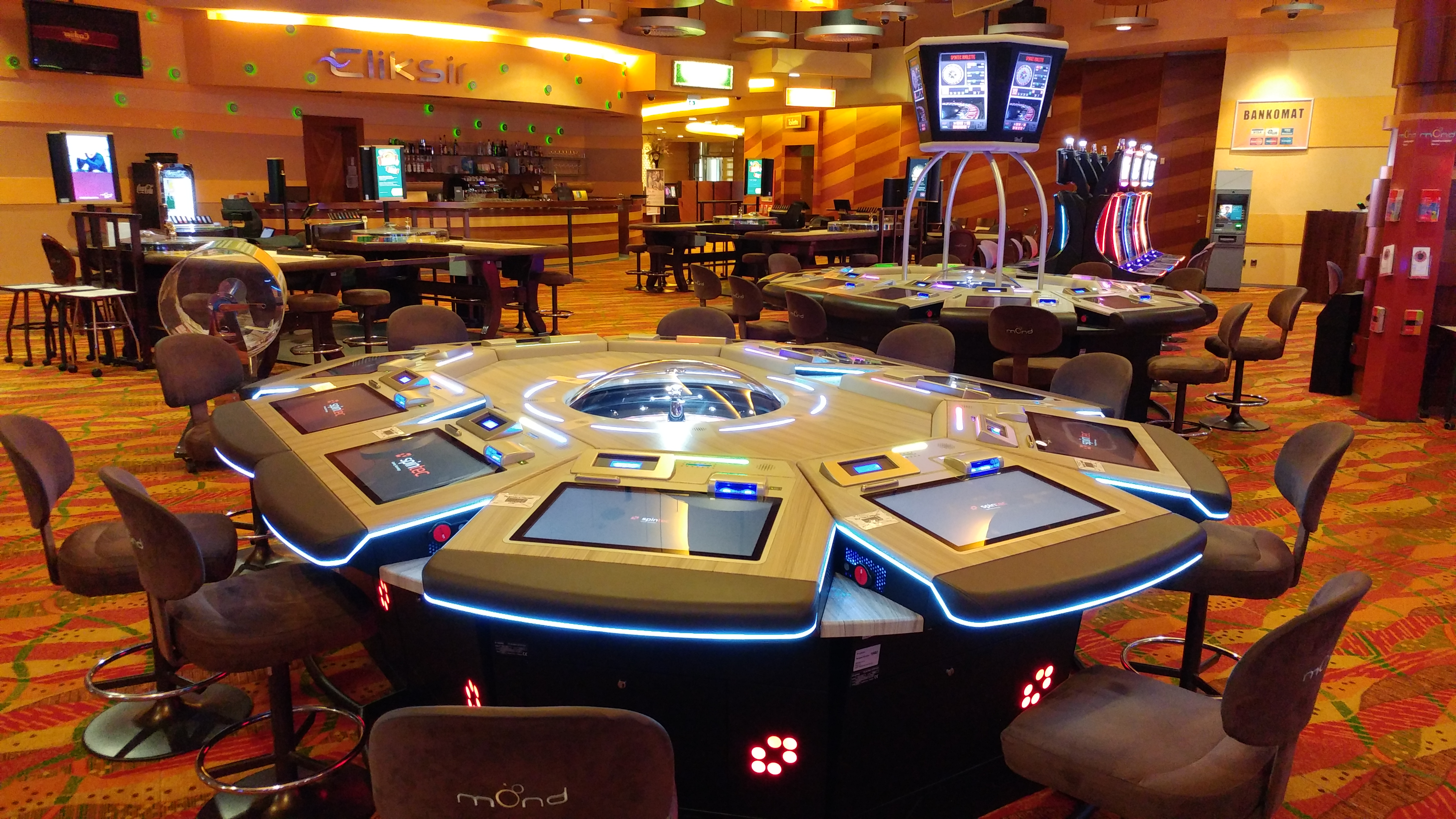 electronic roulette casino