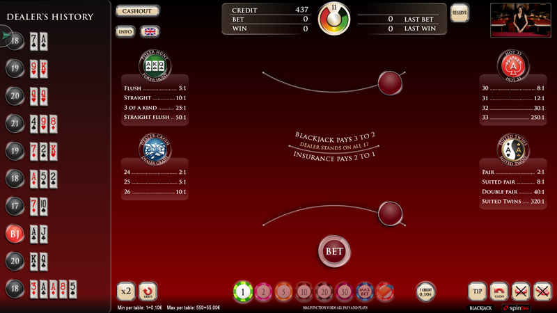 Karma Electronic Blackjack – Conquers your Floor!